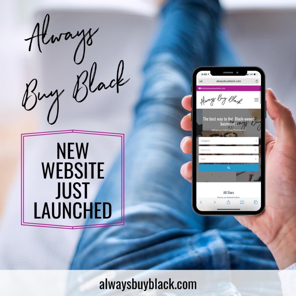 always buy black website launch